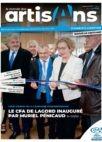 le monde des artisans charente maritime avril 2019 inauguration du CFA de Lagord avec la ministre du travail Muriel Penicaud