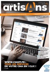 le monde des artisans charente-maritime janvier 2020