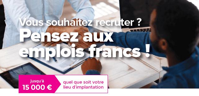 emplois francs recruter