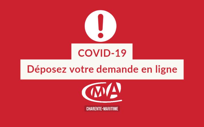 coronavirus covid 19 demande chambre des métiers 17