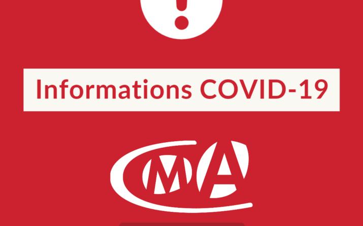 coronavirus cma 17 mesures infos et accompagnement