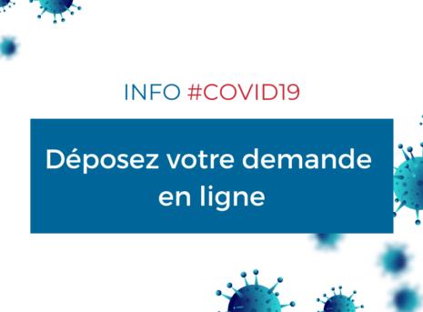 COVID19 - demande en ligne reconfinement octobre décembre 2020 chambre des métiers 17