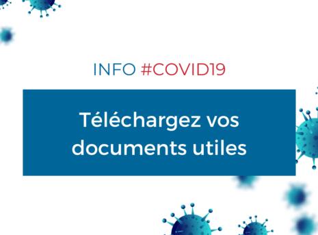 COVID19 - télécharger vos documents reconfinement octobre décembre 2020 cma 17