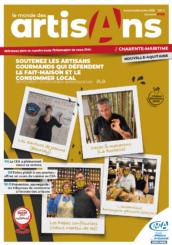 Le monde des artisans charente maritime décembre 2020