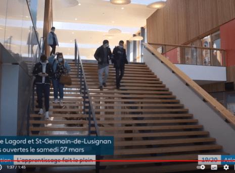 Vidéo F3 CFA lagord