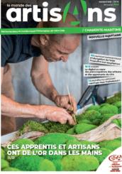 monde des artisans charente-maritime magazine avril