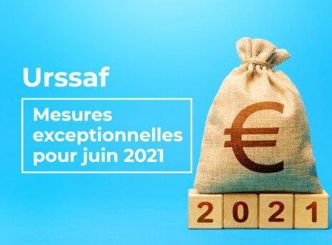 urssaf mesures aide exceptionnelle juin 2021 entreprise suspension des cotisations cma 17